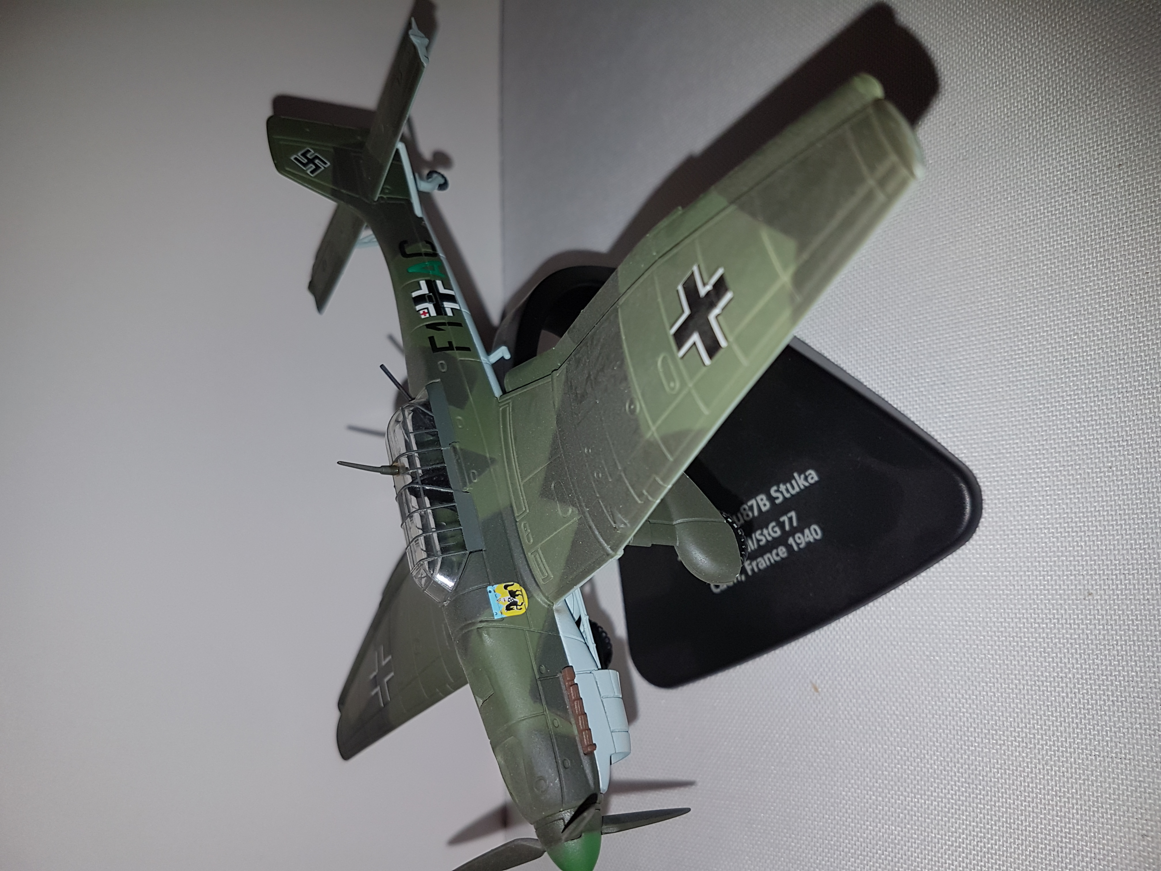 IXO Models JU 87 Stuka  Germany 1:72 Metall