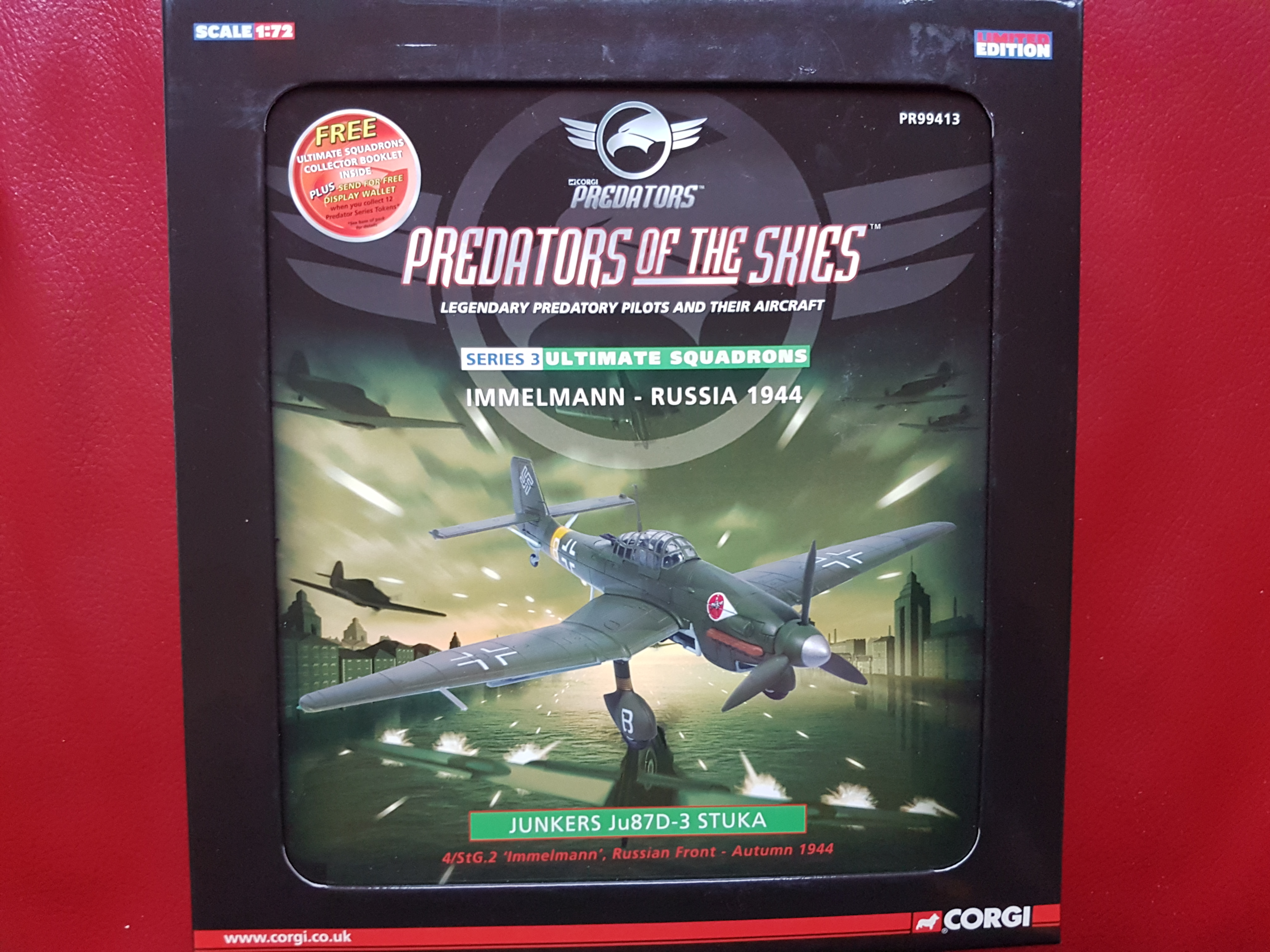 CORGI - Predators  Predators of the Skies   Junkers Ju87D-3 Stuka