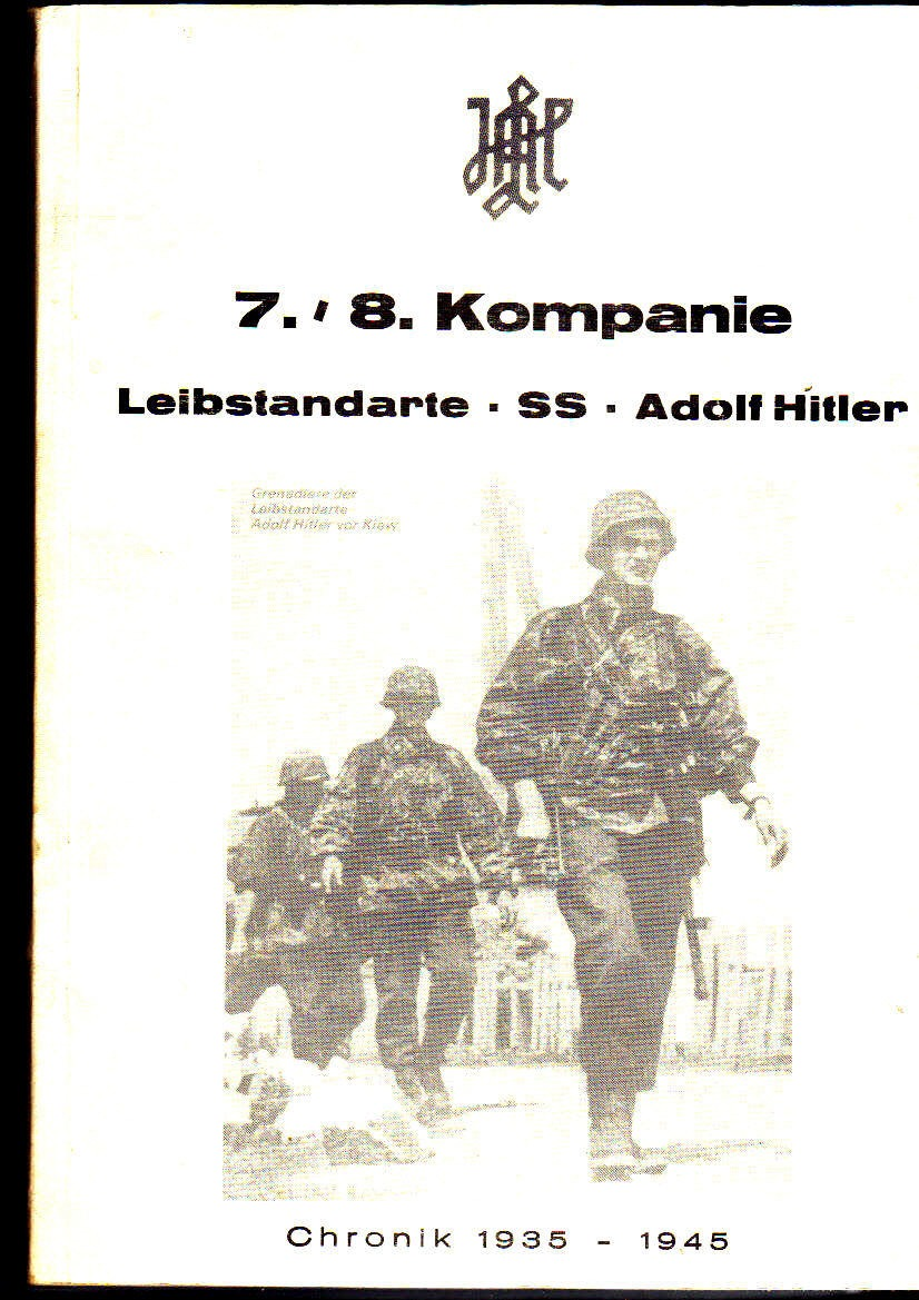 7/8 Kompanie Leibstandarte SS Adolf Hitler              Chronik 1935-1945