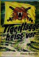 Tigerflagge heiss vor